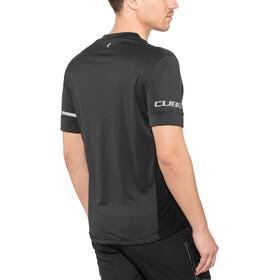 Cube Tour Koszulka rowerowa z zamkiem błyskawicznym Mężczyźni, black
